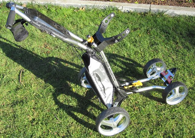 Golf Gadget Review! – Sun Mountain Micro Cart on sun mountain golf cart seat, sun mountain golf cart tires, sun mountain golf cart air pump,