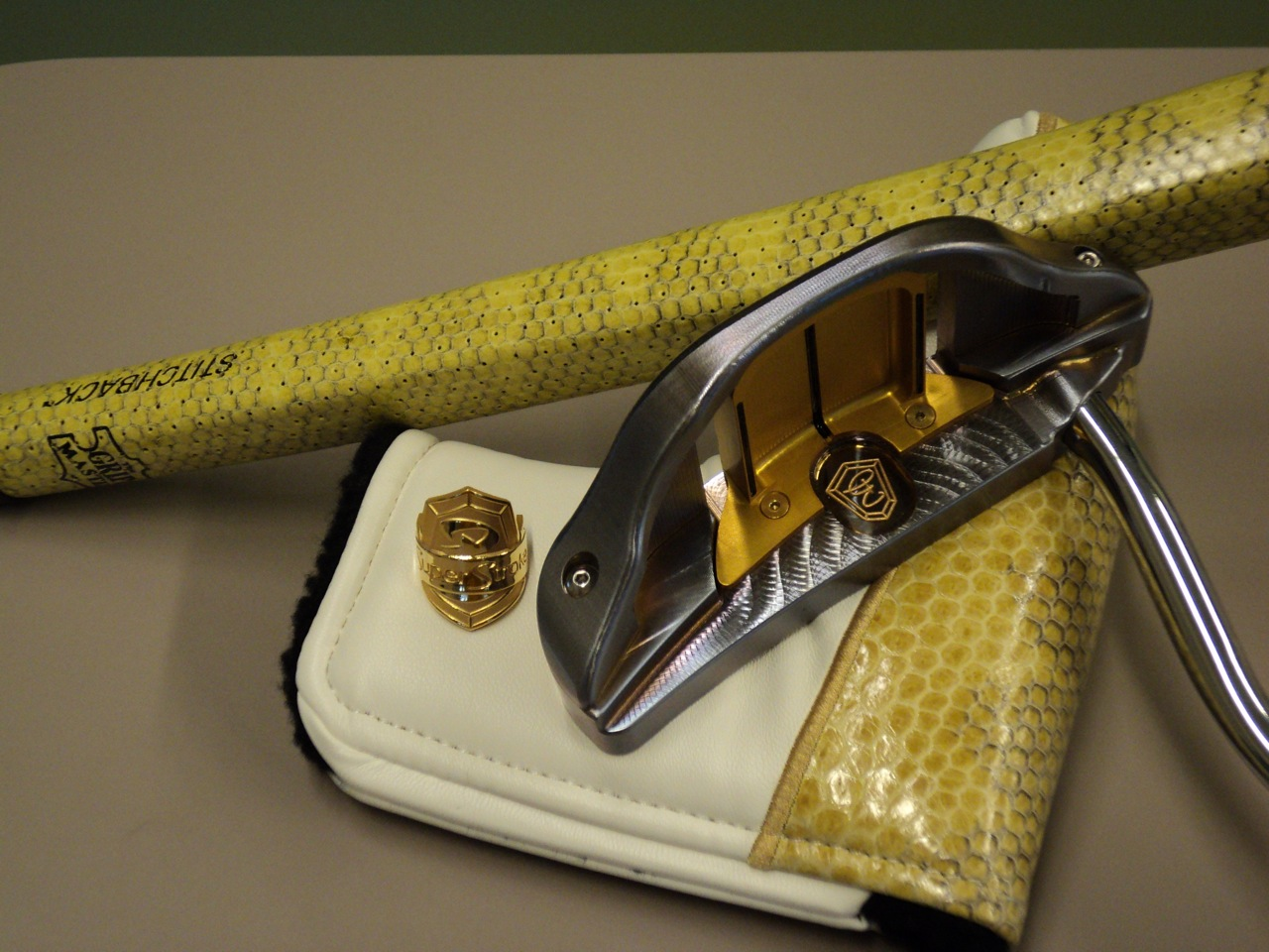 Super Stroke Putters by Bruce Sizemore