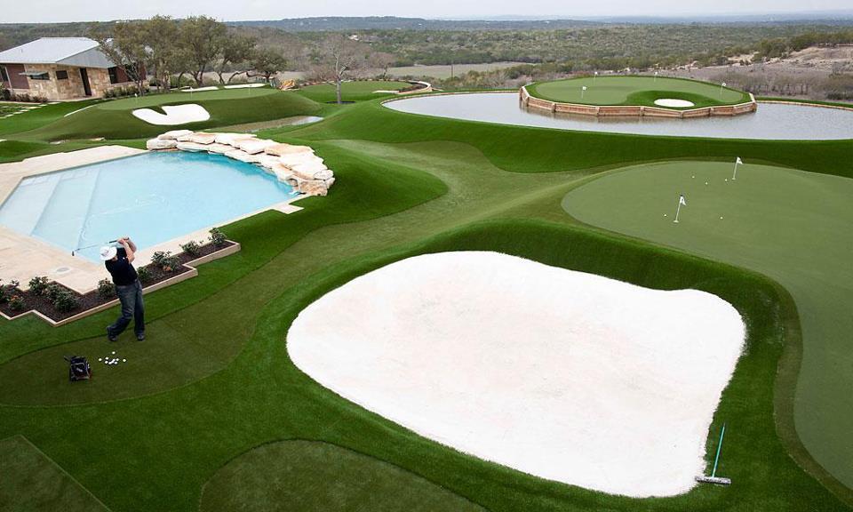 dave pelz amazing back yard golf course tour chatter mygolfspy