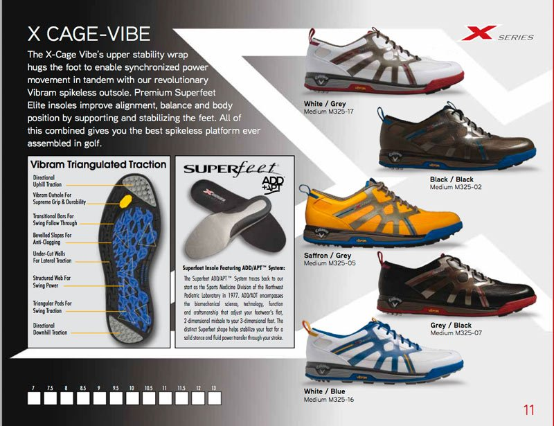 Callaway M371 - Hyperbolic Tour Golf Shoes | Discount Golf World