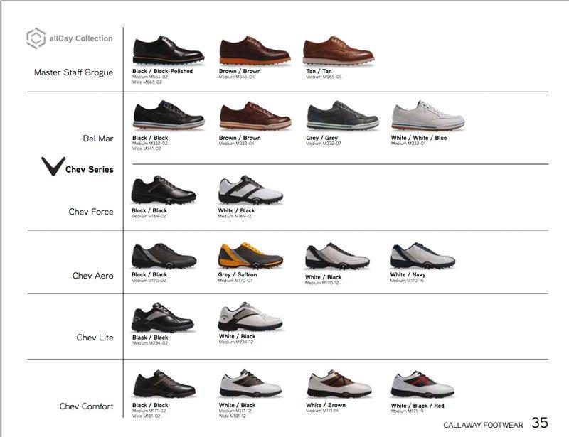 2014 Callaway Golf Shoes