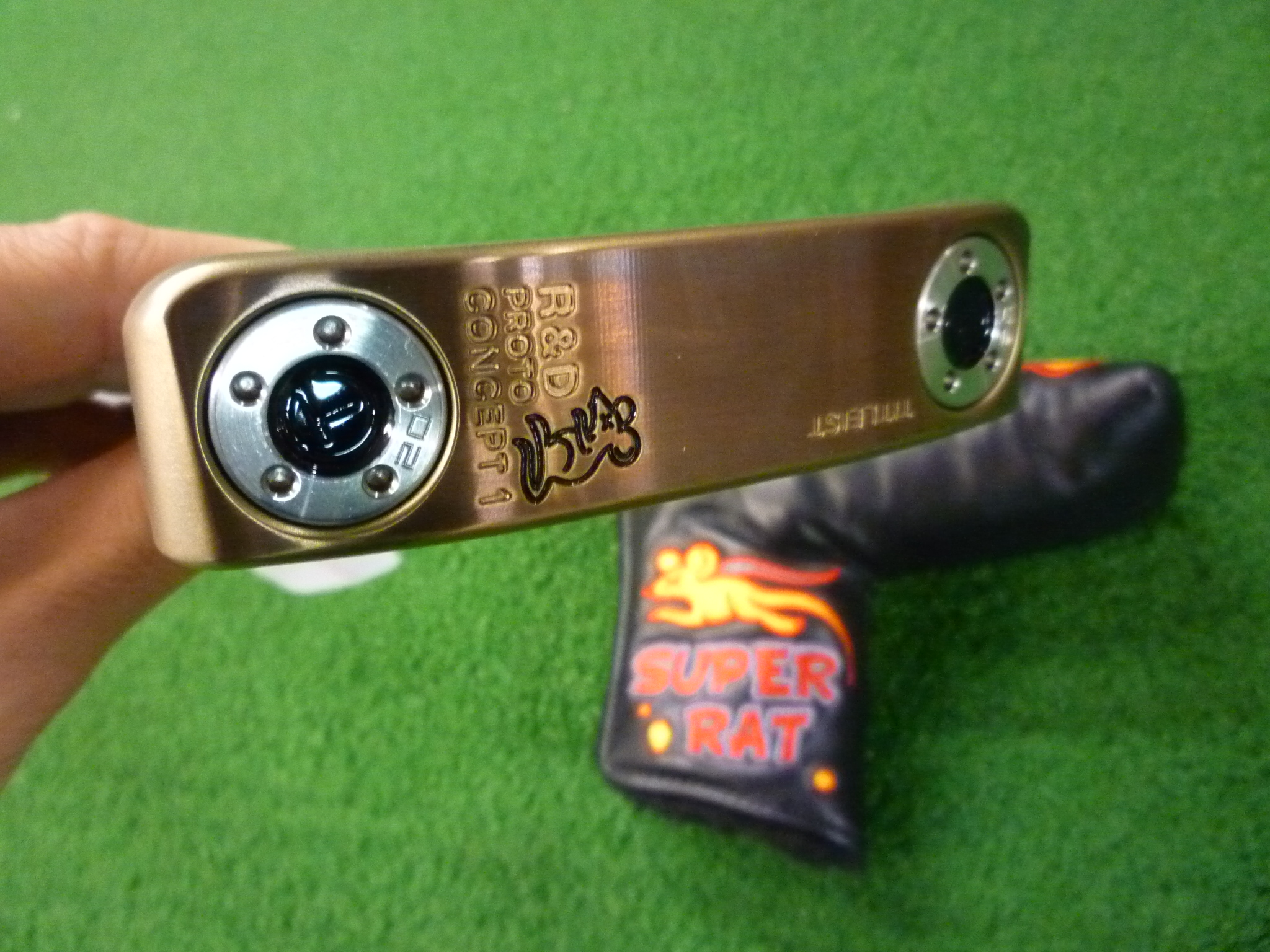 2011 TOUR RAT Scotty Cameron R&D Proto Concept 1 *PICS