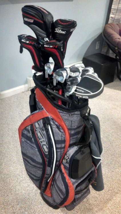 2015 Ogio Chamber Cart Bag Unofficial Reviews