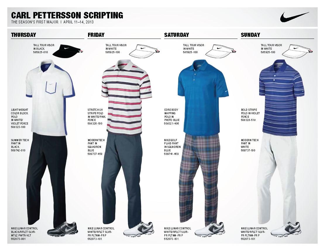 54992e58833 Nike Golf Polo Shirts Tiger Woods