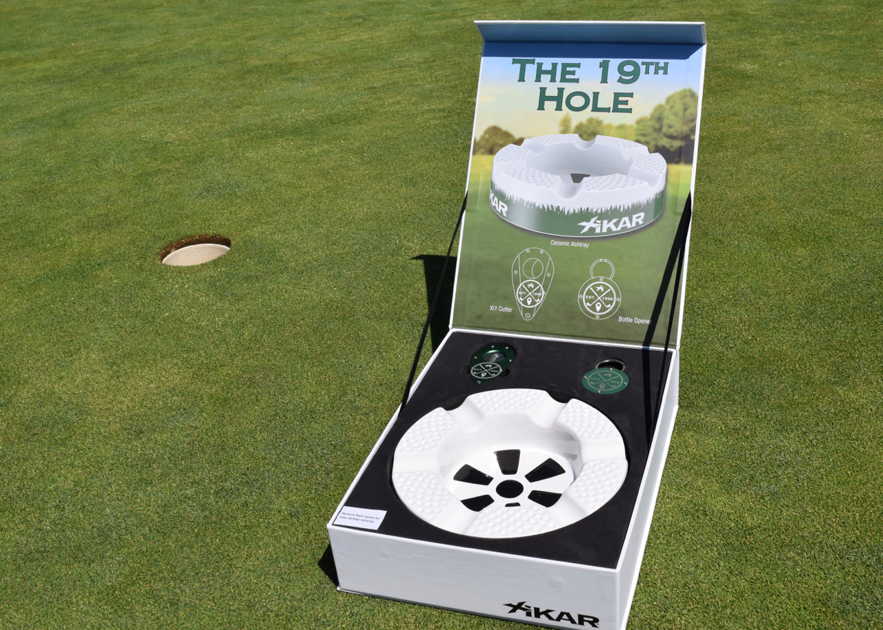 86a0e657adca Just in time for Father s Day  Xikar s 19th Hole Gift Set - The ...