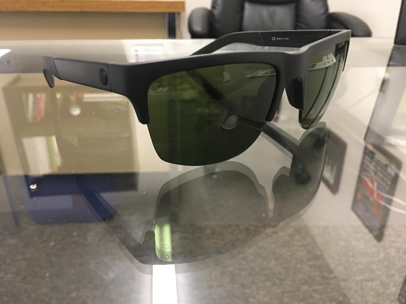 89dbee8384765 ... electric sunglasses. Knoxville pro non polarized. Matte black.  120obo.  DCEC03C6-C636-4A8A-A5D7-30AD7261C748.jpeg