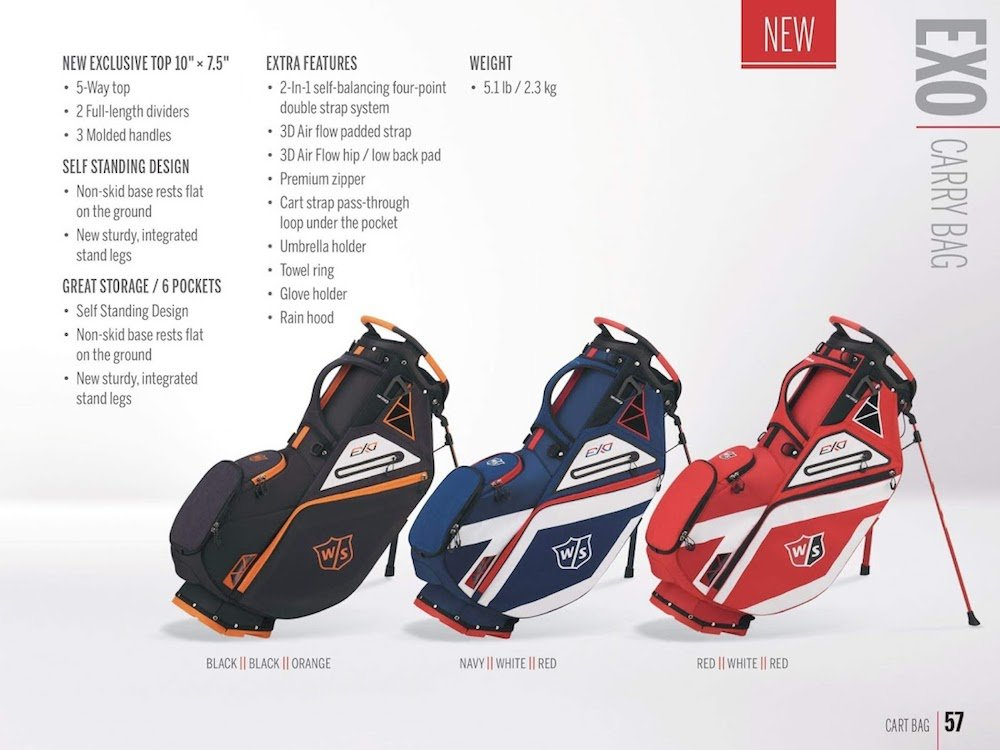 Wilson Golf 2019 eXo Golf Bags - US Equipment - MyGolfSpy Forum on golf trolley, golf course accessories supplies, golf pants, golf galaxy, golf pull carts, golf gifts, golf digest hot list bags, golf shopping bag, golf travel bag, golf stand bag, golf club bag, golf push carts,