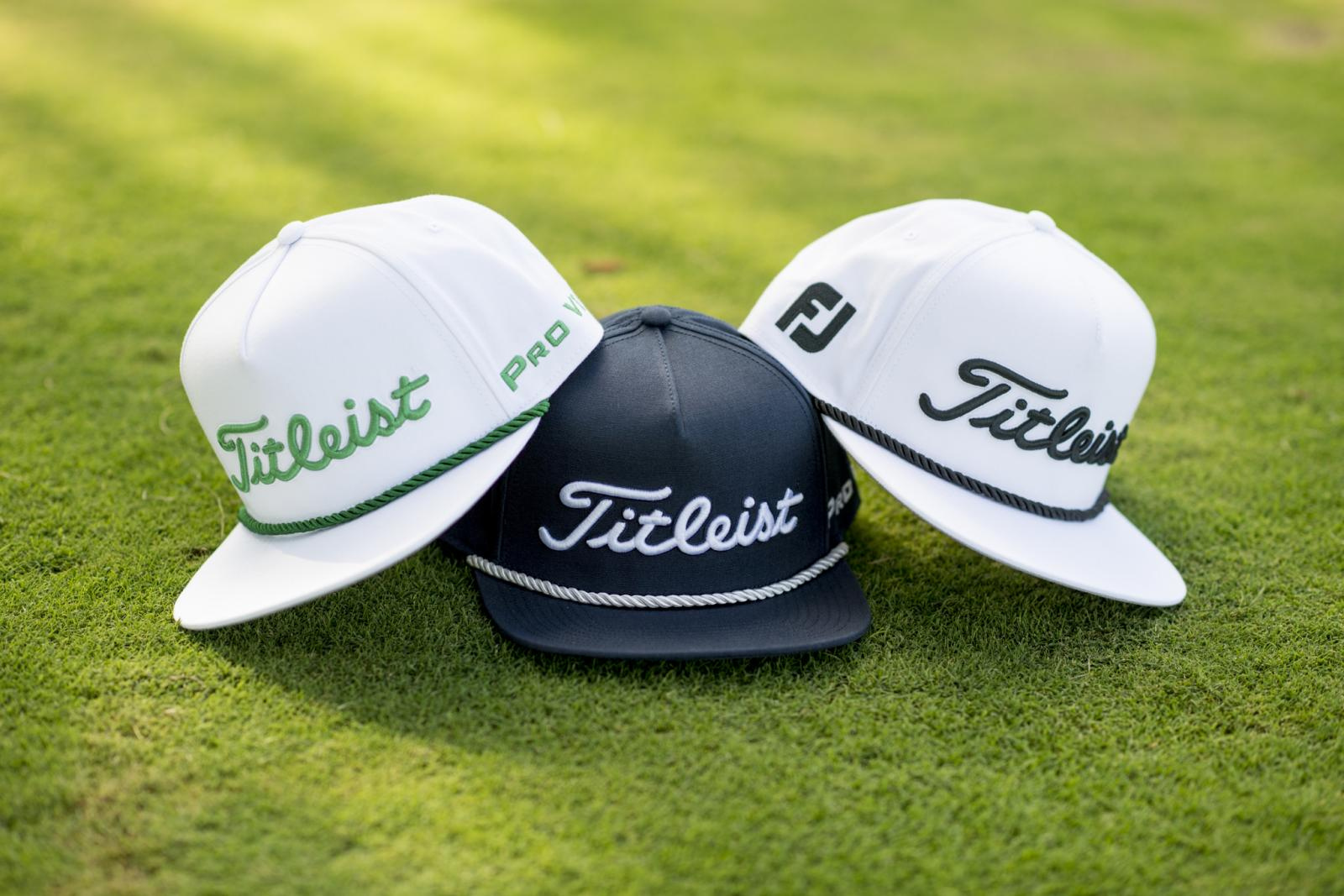 e33ccd2aa2b Titleist Introduces Titleist Tour Rope Flat Bill Hat Collection ...