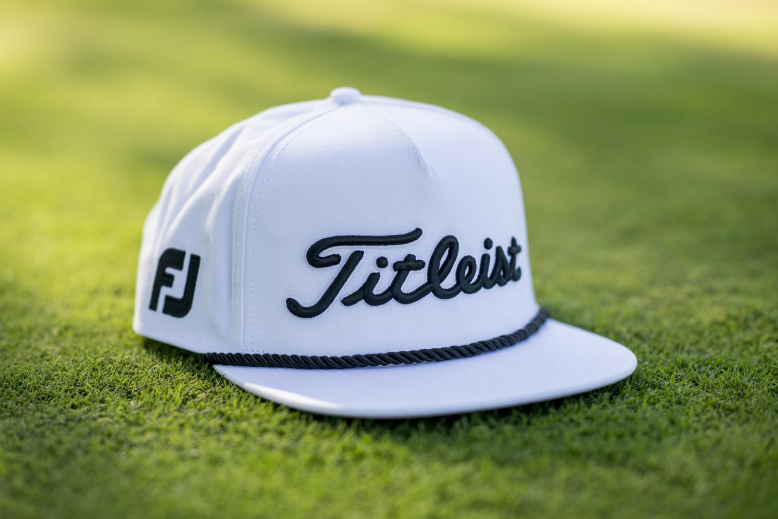 Titleist Introduces Titleist Tour Rope Flat Bill Hat Collection ... bbfc989a9c4