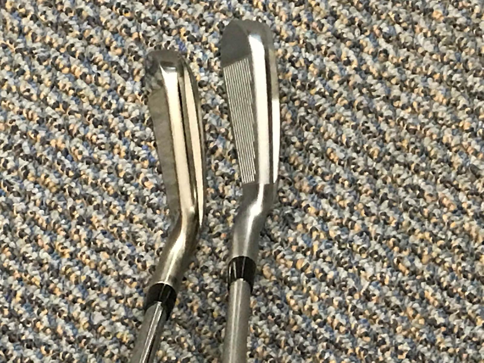 AP1 5 iron left JPX 5 iron 5 right.jpg
