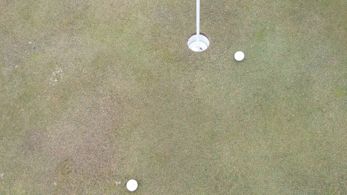 EvenRoll Pic 2 MisHits 20 feet  center strike in the hole toe out to the right heel missed short.jpg