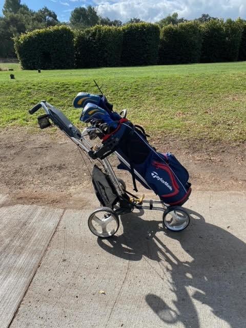 Cart with Golf bag - Copy.jpg